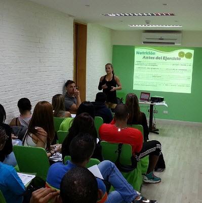 Astrid Naranjo - Taller de Nutrición Deportiva