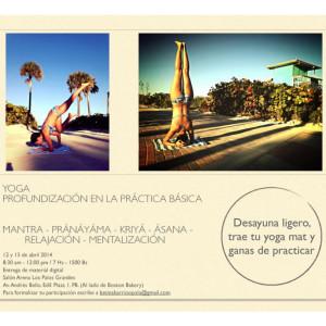 Betina Barrios Yoga - Profundización de la práctica básica